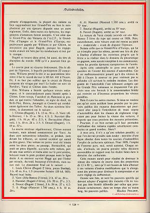 1928 09 09 GP d'Italie à Monza et d'Europe Chiron, DC de Materrssi 4