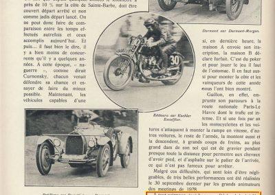 1928 09 30 Gaillon,1 km D.A., Morel MCO 1500cc, 30''1-5, à 118, 421 kmh. MTJTC. 1