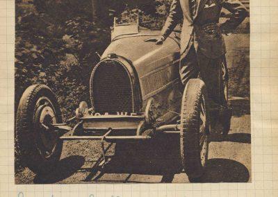 1928 17 06 GP Royal Rome, Amilcar 1er Morel 1100cc, 2ème Zampieri Amilcar C.6.. En 2000cc 1er Chiron Bugatti. 1
