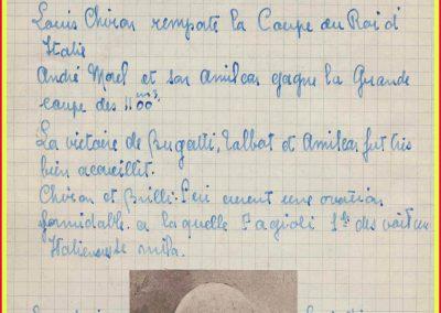 1928 17 06 GP Royal Rome, Amilcar 1er Morel 1100cc, 2ème Zampieri Amilcar C.6.. En 2000cc 1er Chiron Bugatti. 4
