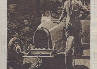 1928 17 06 GP Royal de Rome Italie, 396 km, Morel 1er Amilcar MCO 1100, 3h 46''. Chiron 1er Bugatti 2000cc 3h 05'. 1