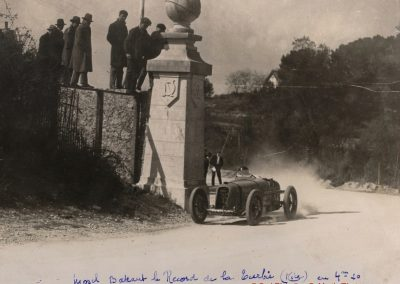 1928 18 03 la Turbie, Amilcar Morel MC0 1500 4'27''. 1