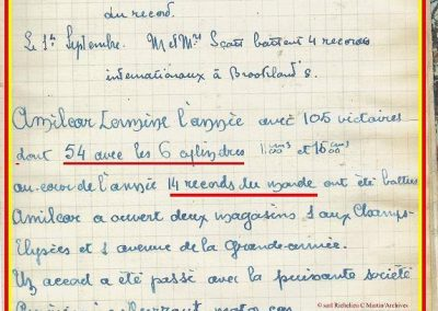 1928 18 08 Records Amilcar Morel MCO 1100cc à 207 km-h et le 26 en 1270cc 220 km-h.1_