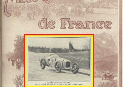 1928 25 03 Argenteuil Amilcar 1500cc 1er Martin 1'15''4-5 à 85,488 kmh RTCB et 1er Amilcar 1100cc en 1'22''à 79,024, 1_