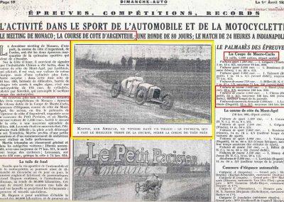 1928 25 03 Argenteuil Amilcar 1500cc Martin 1'15''4-5 à 85,488 kmh RTCB et en 1100cc 1'22''à 79,024, 3_