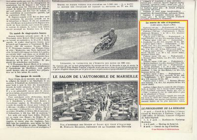 1928 25 03 Argenteuil Amilcar 1500cc Martin 1'15''4-5 à 85,488 kmh RTCB et en 1100cc 1'22''à 79,024, 4