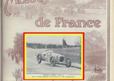 1928 25 03 Côte d'Argenteuil, 1er Martin Amilcar 1100 MCO GH 1'22 et 1'15'' 4-5, en 1500cc R.B.T.C. 1