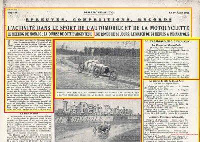 1928 25 03 Coupe de Monaco, Martin 1100 MCO de Monte Carlo. 3