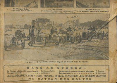 1928 25 08 GP de la Baule Meeting '' le 5ème'' Scaron 1