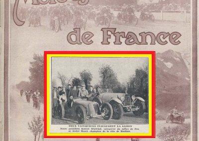 1928 26 12 Côte de Morlaas, Amilcar 1500 MCO, Morel, 1'03''1-5 M.T.T.C.. Rallye de Pau 1er Sénéchal Bugatti 2300. 1
