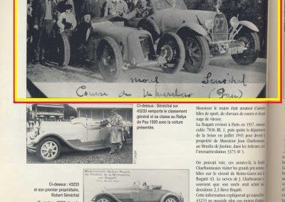 1928 26 12 Côte de Morlaas, Amilcar 1500 MCO, Morel, 1'03''1-5 M.T.T.C.. Rallye de Pau 1er Sénéchal Bugatti 2300. 2