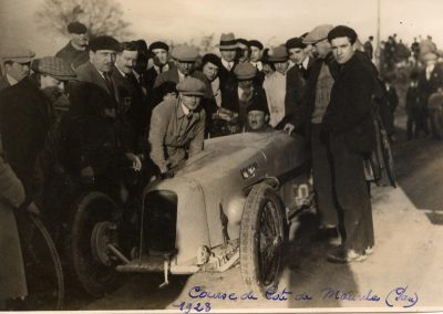 1928 26 12 Côte de Morlaas, Amilcar MCO 1500, Morel, 1'03''1-5 M.T.T.C.. Rallye de Pau 1er Sénéchal-Bugatti 2300. 1