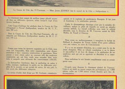 1928 29 04 Côte des 17 Tournants, 1800 km, Amilcar 1500 MCO n°66 Morel 1'29'' R.B., Martin n°71, MCO G.H. 1'32 R.B., , Williams Bugatti n° 74, 2000cc 1'28 R.B. 2