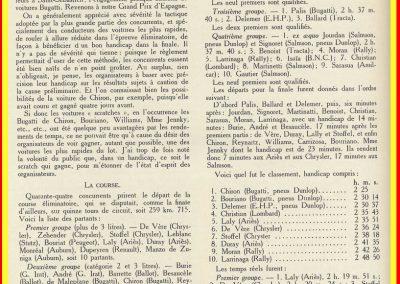 1928 29 07 GP d'Espagne 1er Chiron-Bugatti, 5ème Williams-Bugatti, 8ème Duray-Ariès.3_