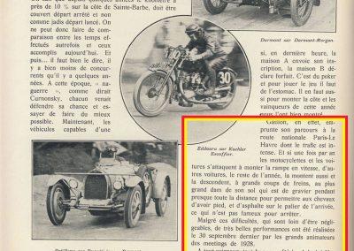 1928 30 09 24ème et dernier Gaillon Amilcar Morel MCO 1500cc 28'' 2-5 à 136 kmh RBMTTC 4