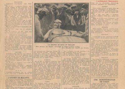 1928 30 09 Gaillon 1 Km D.A. 1er Amilcar Morel 28'2-5 R.B.T.T.C. 1