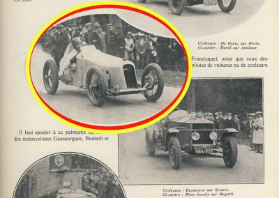 1928 30 09 Gaillon, Amilcar MCO 1500 Morel28''2-5 à 136,210 km-h. RBMTTC. 1