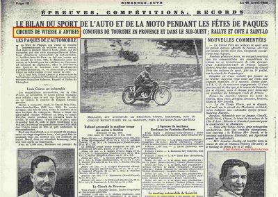 1928 Cote Ronchettes Scaron. 1