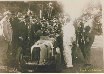 1928 -- -- GP, Amilcar MCO 1500, Moriceau 1er des 1500cc n°7. 1