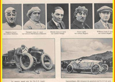1928 les vinqueurs du GP France ''Williams''. 1