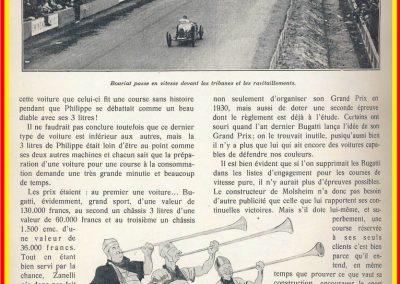 1929 02 06 GP ''le 2ème, GP BUGATTI'' au Mans. 1er Zanetti. 4