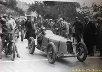 1929 14 04 Grande Semaine Autos de Monaco avant le GP, Morel Amilcar MCO 1500cc. 1