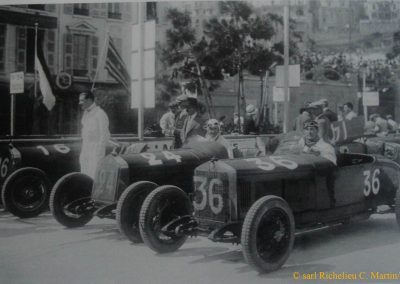 1929 14 04 Le 1er GP Automobile de Monaco. 1er Williams. 7