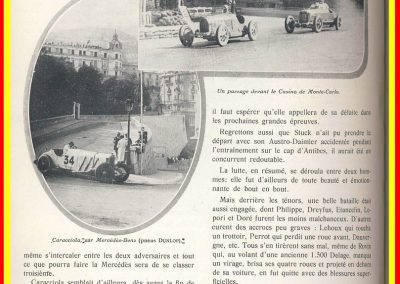 1929 14 04 le 1er GP de Monaco, 1er Williams-Bugatti 35B. 3