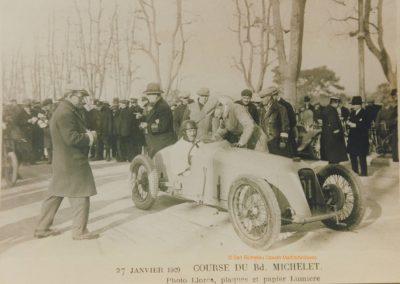 1929 27 01 Michelet, 1er Morel Amilcar MCO 1500 en 28''2-5, à 126,760 kmh. 1