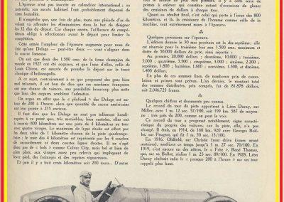 1929 30 05 500 miles d'Indianapolis USA. ab Moriceau sur l'Amilcar, Chiron sur Delage est 7ème sur 11 arrivants et 35 partants 5