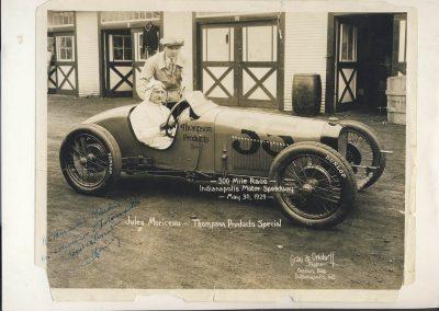 1929 30 05 500 miles d'Indianapolis USA. ab. Moriceau sur l'Amilcar MCO 1500, Chiron sur Delage est 7ème sur 11 arrivants et 35 partants 1 2_