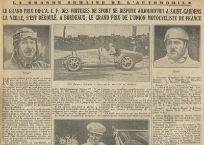 1929 30 06 GP ACF Duray,Laly-Ariès, Williams-Bugatti, Voitures Sport St Gaudens 1
