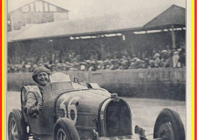 1929 30 06 GP ACF au Mans 1er Williams-Bugatti 35B. 1
