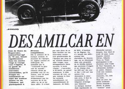 1929 Des Amilcar en Algérie 1