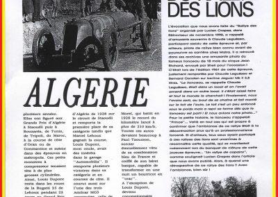 1929 Des Amilcar en Algérie 2é