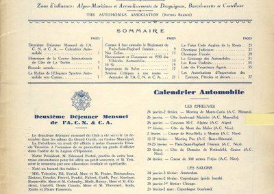 1930 - - 01 l'Automobile sur la Côte d'Azur Rec. la Turbie 1