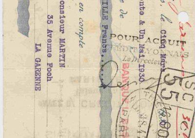 1930 07-09 06 Bol d'Or, le 9ème à St-Germain) C.A. Martin (mon père) Amilcar C.O. 6 cyl.-4, n°100 6ème, Gaston Mottet n°101. 13