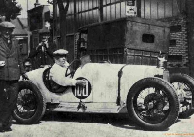 1930 07-09 06 Bol d'Or, le 9ème à St-Germain) C.A. Martin (mon père) Amilcar C.O. 6 cyl.-4, n°100 6ème, Gaston Mottet n°101. 5