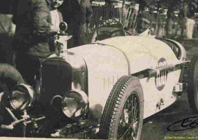 1930 07-09 06 Bol d'Or, le 9ème à St-Germain) C.A. Martin (mon père) Amilcar C.O. 6 cyl.-4, n°100 6ème, Gaston Mottet n°101. 6