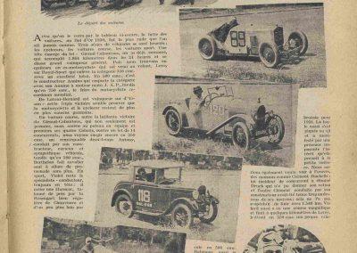 1930 07-09 06 Bol d'Or, le 9ème à St-Germain) C.A. Martin (mon père) Amilcar C.O. 6 cyl.-4, n°100 6ème, Gaston Mottet n°101. 8