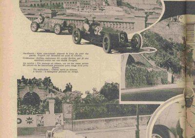 1931 19 04 GP Monaco, Chiron 1er Bugatti 51, ab Williams, Bugatti 35C, Caracciola, Divo. 2