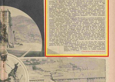1931 19 04 GP Monaco, Chiron 1er Bugatti 51, ab Williams, Bugatti 35C, Caracciola, Divo. 3