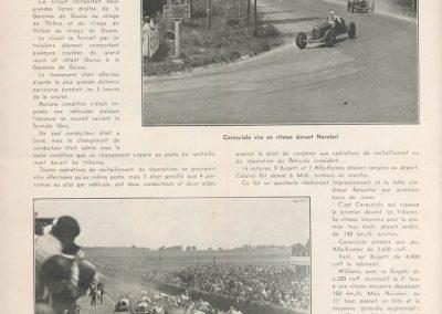 1931 21 06 GP ACF 1er Chiron-Varzi, 2ème Campari-Borzachini Alfa Roméo. ab Williams-Conelli Bugatti 51. 5