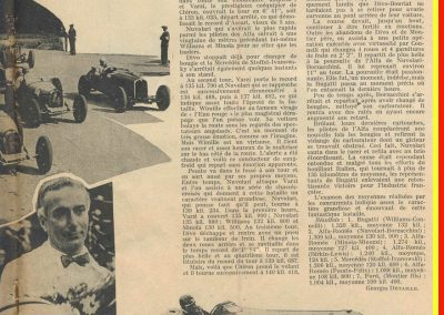 1931 22 07 GP Belgique 1er Williams-Conelli Bugatti 51, 2è Nuvolari-Borzachini Alfa Roméo 2