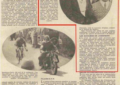 1931 23 25 05 Bol d'Or (24 h. un seul pilote) Saint -Germain-en-Laye. Amilcar MCO GH, C.A. Martin, 1er Cat. et 3ème au Général (avec le moteur 4 cyl. latéral 1100cc). 12_