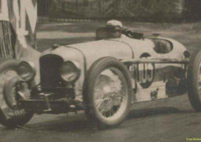 1931 23 25 05 Bol d'Or (24 h. un seul pilote) Saint -Germain-en-Laye. Amilcar MCO GH, C.A. Martin, 1er Cat. et 3ème au Général (avec le moteur 4 cyl. latéral 1100cc). 3_