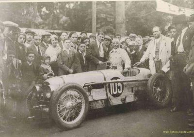 1931 23 25 05 Bol d'Or (24 h. un seul pilote) Saint -Germain-en-Laye. Amilcar MCO GH, C.A. Martin, 1er Cat. et 3ème au Général (avec le moteur 4 cyl. latéral 1100cc). 4_