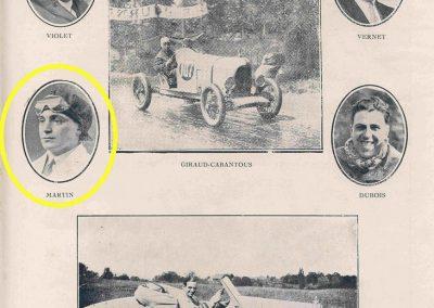 1931 23 25 05 Bol d'Or (24 h. un seul pilote) Saint -Germain-en-Laye. Amilcar MCO GH, C.A. Martin, 1er Cat. et 3ème au Général (avec le moteur 4 cyl. latéral 1100cc). 5_