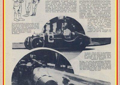 1931 23-25 05 Bol d'Or St Germain (les 24 h. 1 seul pilote). 1er Catégorie Sport, C.A. Martin Amilcar MCO GH n° 103, 413 tours soit, 1726 km à 71 km-h de moy. 10
