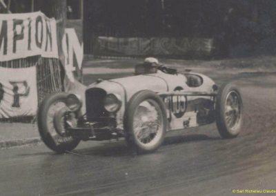 1931 23-25 05 Bol d'Or St Germain (les 24 h. 1 seul pilote). 1er Catégorie Sport, C.A. Martin Amilcar MCO GH n° 103, 413 tours soit, 1726 km à 71 km-h de moy. 6